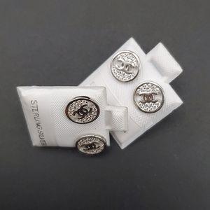 Sterling silver real earrings